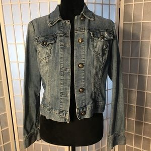 Boom boom jeans jean jacket, Medium no stains, etc